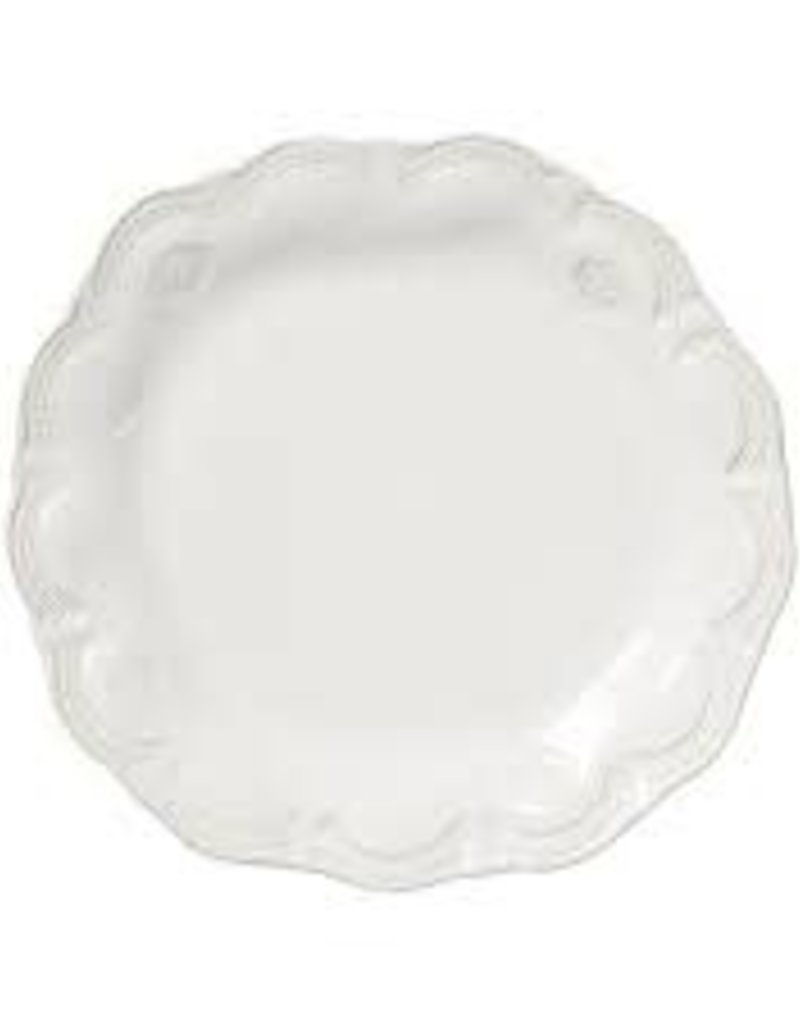 Vietri - Incanto Stone White Lace Dinner Plate