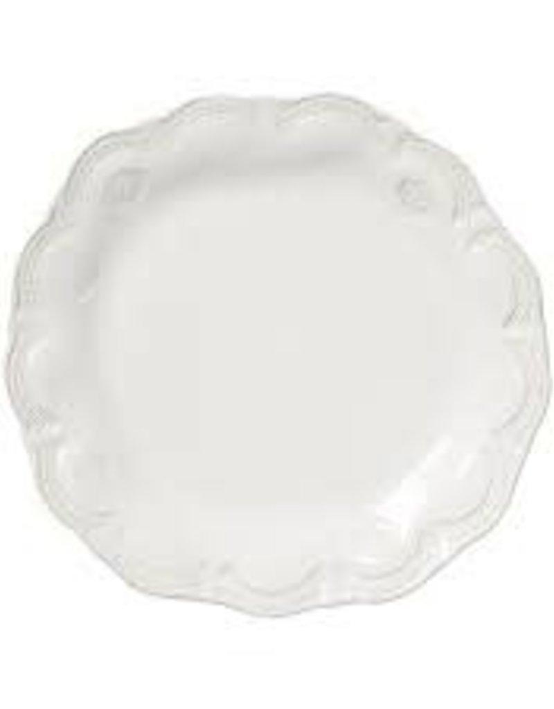 Vietri - Incanto Stone White Lace Salad Plate