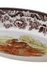 Spode- Woodland Bread Tray (Rabbit)