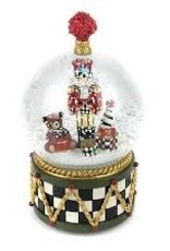 Mackenzie Childs- Nutcracker Snow Globe
