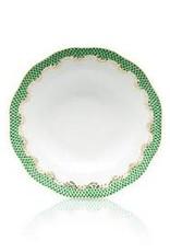 Herend - Fishscale Green Dessert Plate