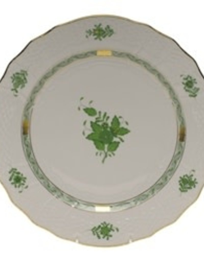 Herend - Chinese Bouquet Green Service Plate