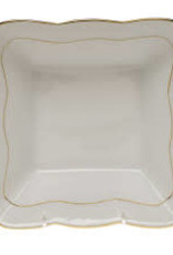 Herend-Golden Edge Square Dish