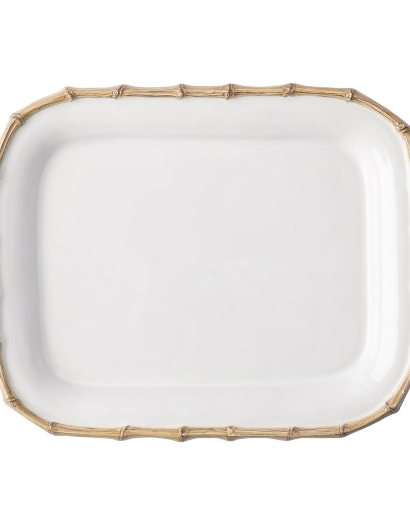 "Juliska Classic Bamboo 12"" Rectangle Platter"