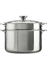 Le Creuset-9 QT Stainless Steel Stockpot