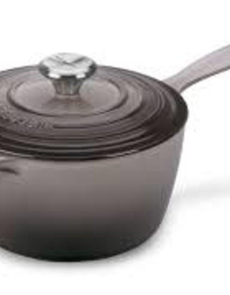 Le Creuset- Signature 2.25 QT Iron Handle Saucepan