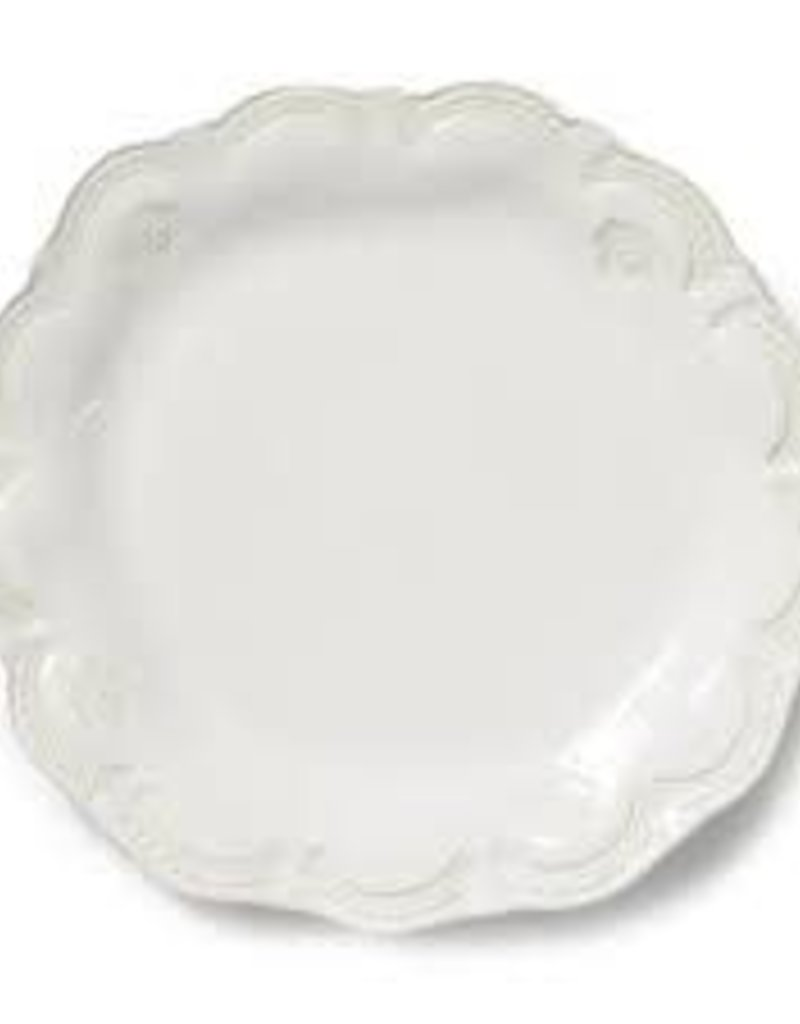 Vietri - Incanto Stone White Lace Dinner Plate