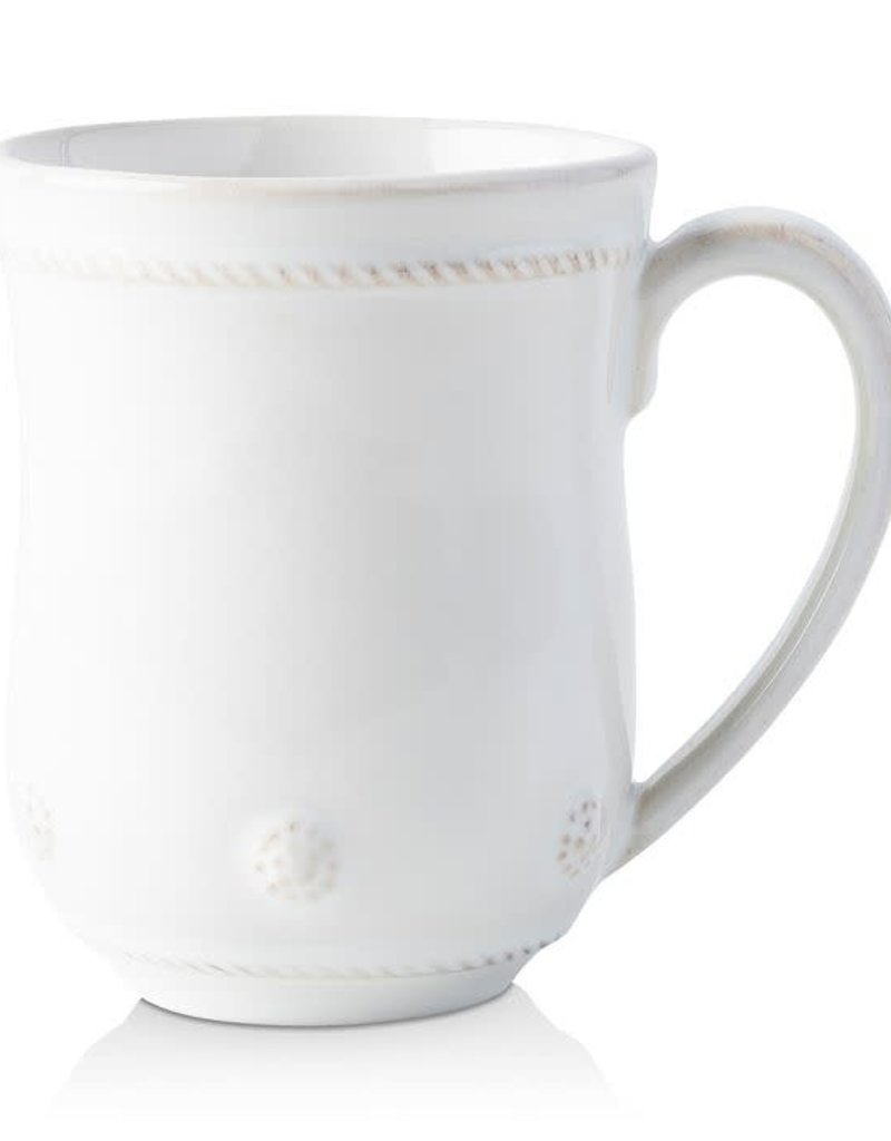 Juliska- Mug Berry & Thread Whitewash (rounded)