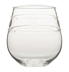 Juliska -  Acrylic Stemless Wine Glass Isabella