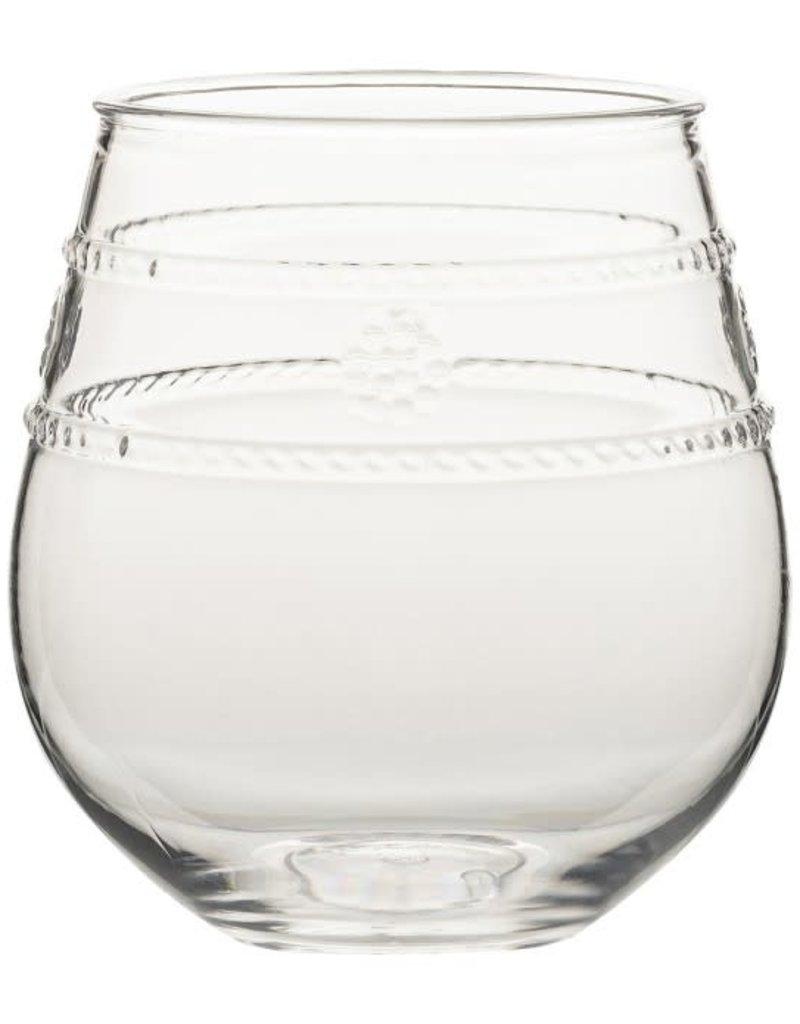 Juliska - Acrylic Stemless Wine Glass Isabella