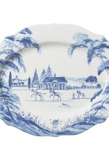 Juliska  Country Estate Blue Serving Platter Large 18.5""