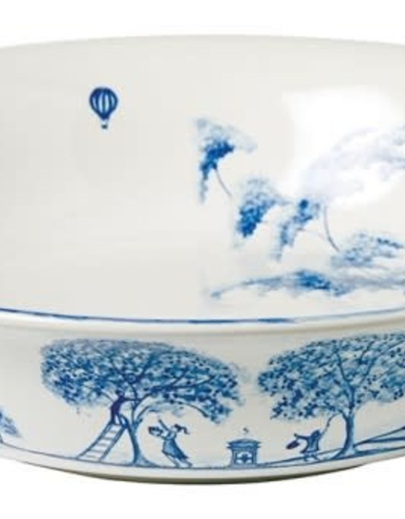 Juliska Country Estate Delft Blue Serving Bowl Large 13""