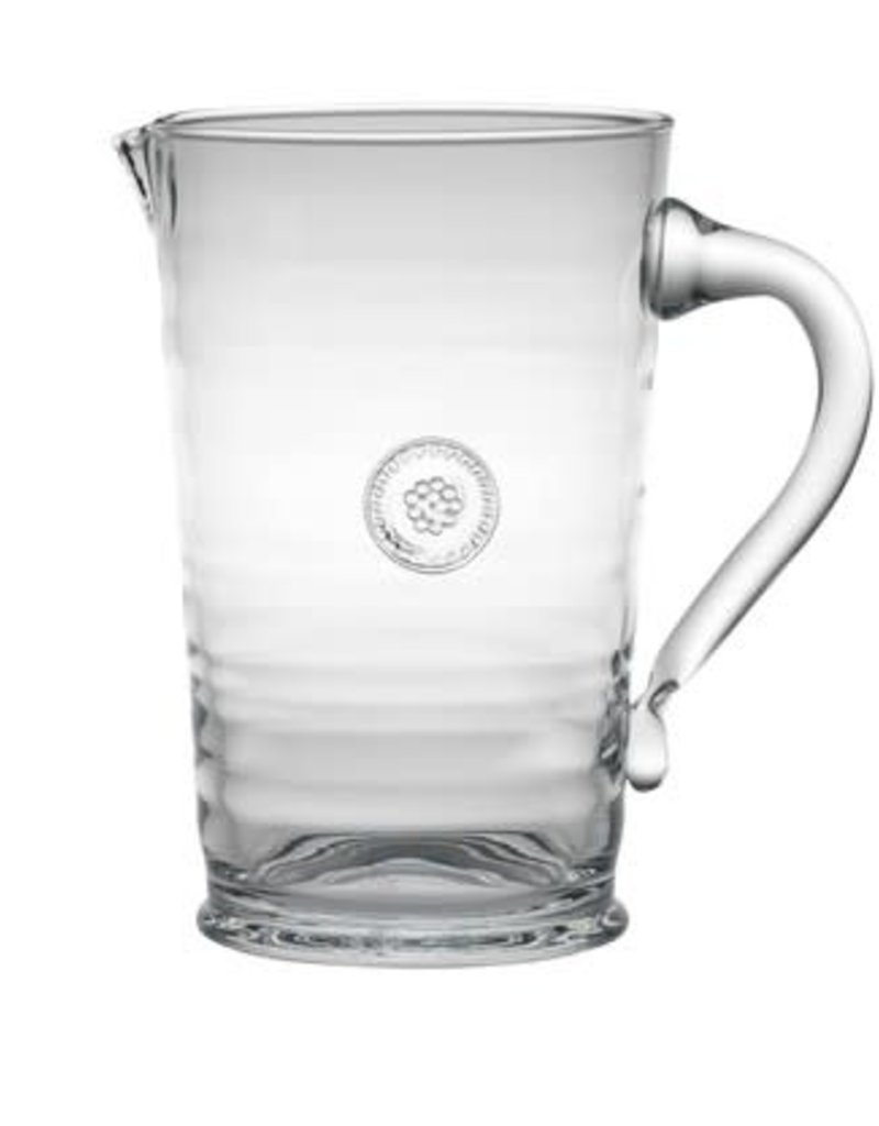 """Juliska- Pitcher B&T Glassware Clear 8.5"""""""