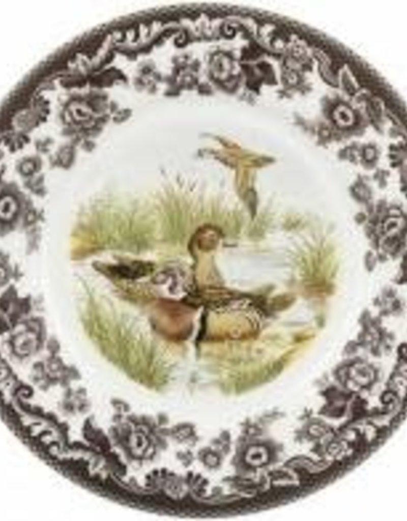 "Spode Woodland Dinner 10.5"" (Wood Duck)"