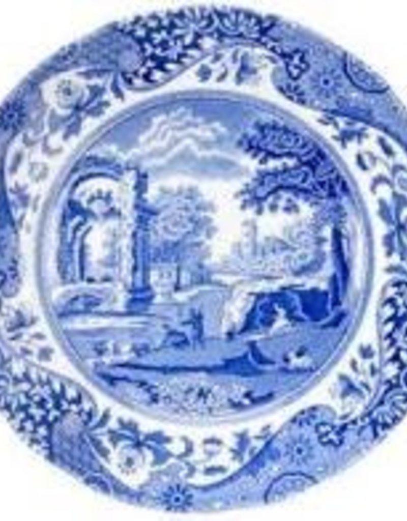 "Spode - 1532498 Blue Italian Salad 8"""