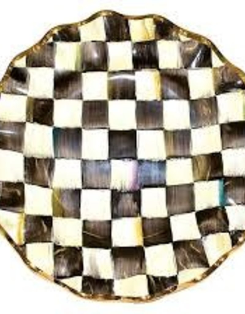 Mackenzie Childs - Courtly Check Fluted Dessert Plate