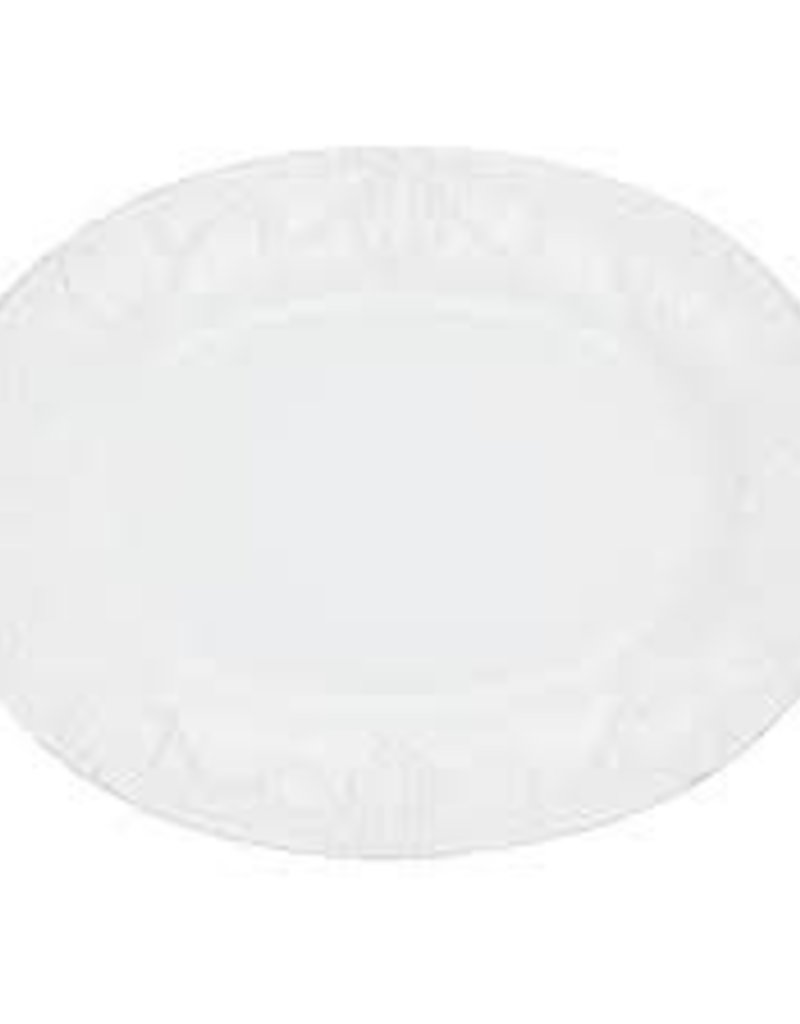 Skyros- Isabella Oval Platter (Pure White)
