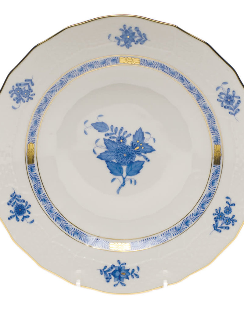 Herend - Chinese Bouquet Blue Dessert Plate