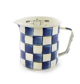Mackenzie Childs Royal Check 7 Cup Measuring Cup