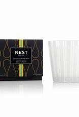 Nest - 3-wick Candle Amalfi Lemon & Mint