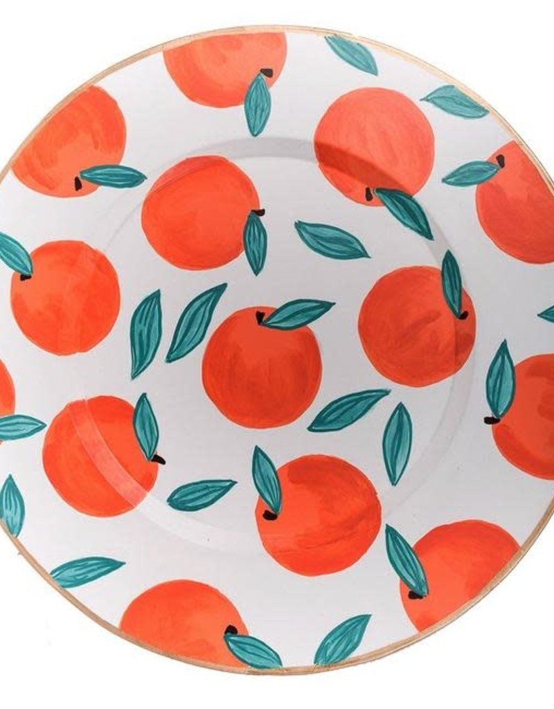 Jaye's Studio- Oranges Charger Plate