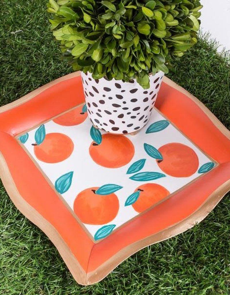 Jaye's Studio - Oranges Cocktail Napkin Tray