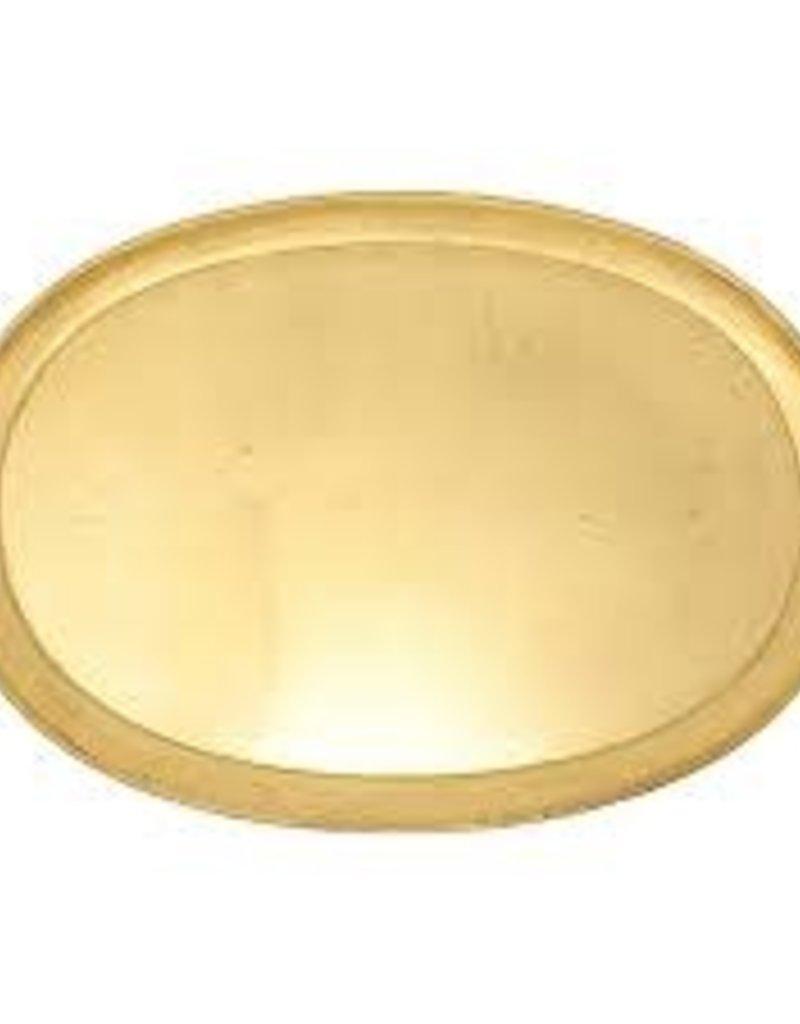 Wooden Handled Medium Oval Tray