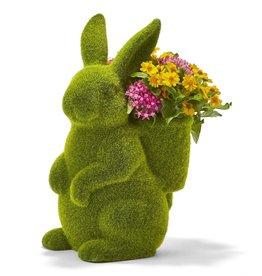 Moss Bunny Planter