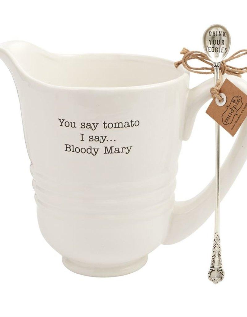 Bloody Mary Pitcher Set w/ Stirrer