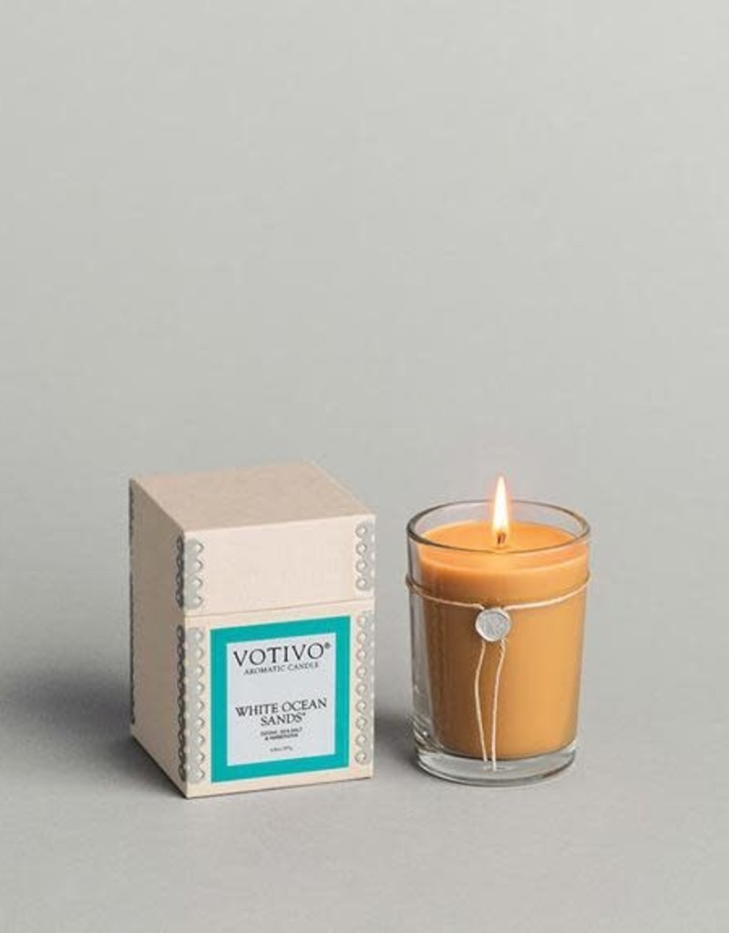 Votivo  Aromatic Candle White Ocean Sand