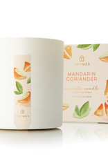 Thymes- Mandarin Coriander Poured Candle 8oz