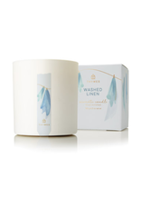 Thymes- washed linen poured candle 8oz