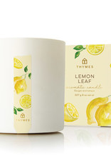 Thymes- Lemon Leaf Poured Candle 8oz