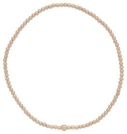 ENewton Classic Gold 2mm Bead Bracelet Bliss Bar Gold