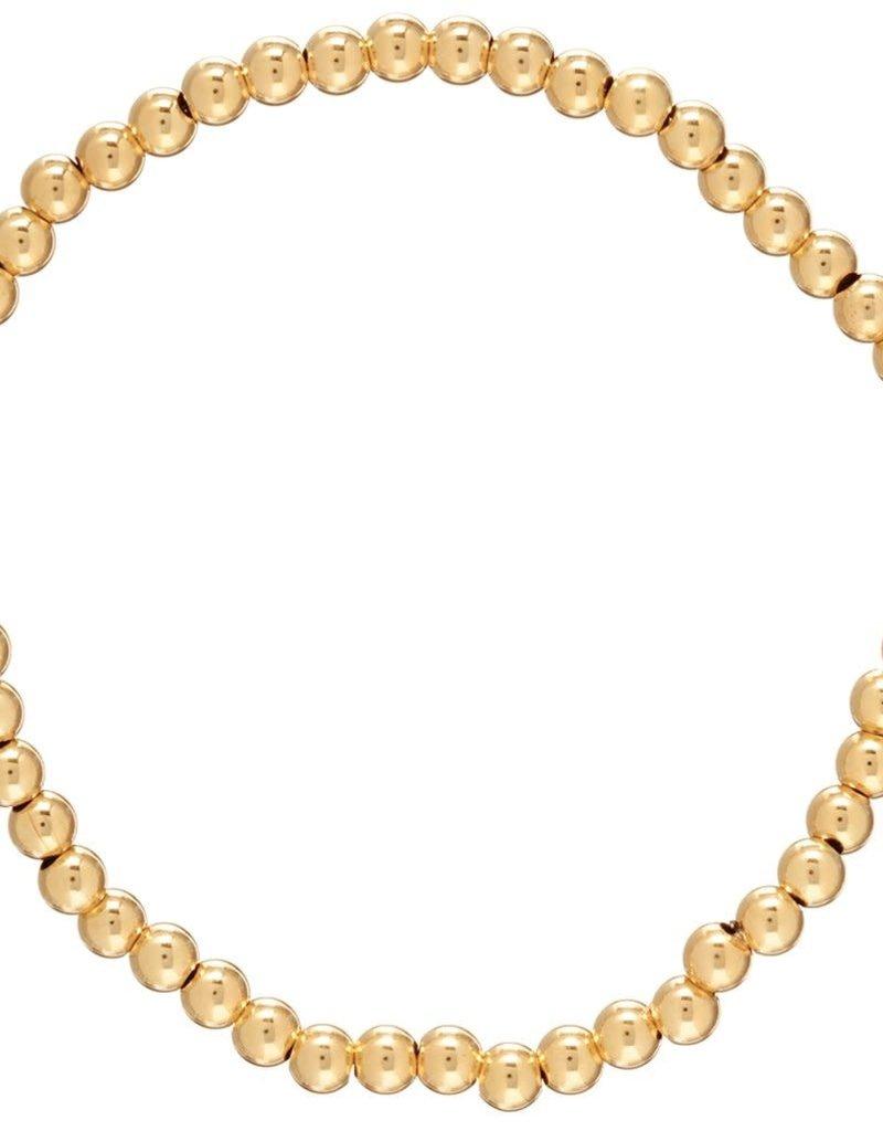 Enewton- BCLG2 Classic Gold 2mm Bead Bracelet