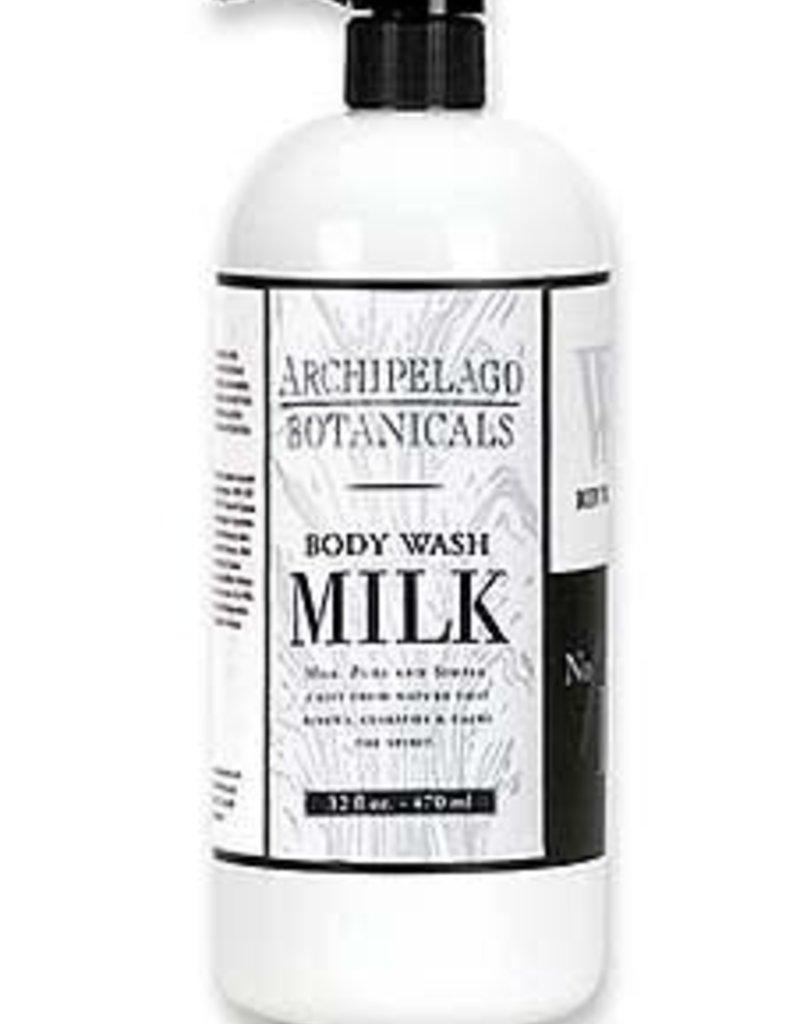 Archipelago- 20014 Milk Body Wash 33oz