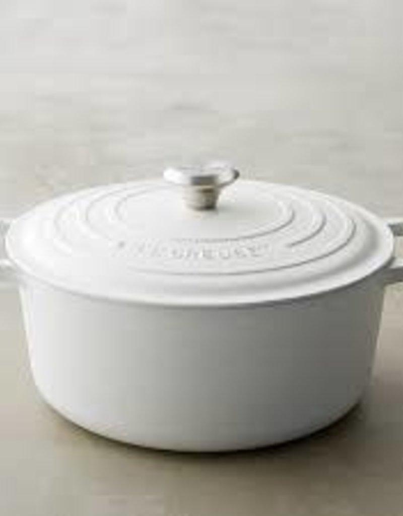Le Creuset-Signature 5.5 QT Round Dutch Oven