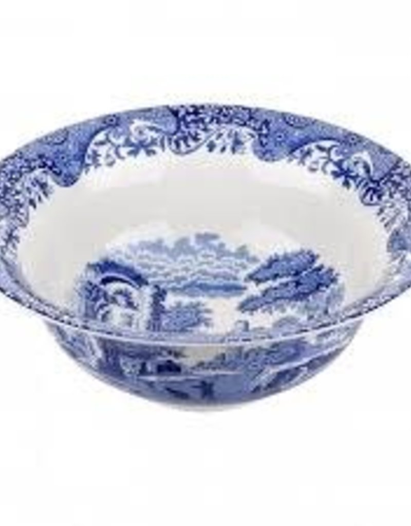 Spode- Blue Italian Serving Bowl 12.75""