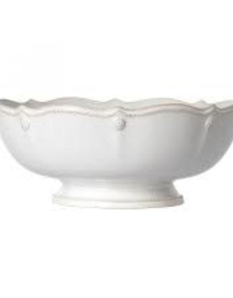 Juliska- Berry & Thread Footed Fruit Bowl (White)