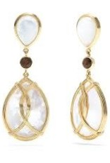 Capucine De Wulf - Ocean Goddess Drop Earrings MOP
