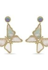 Capucine De Wulf Capucine De Wulf - Grand Butterfly Mother of Pearl Earrings