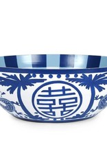 Jaye's Studio - Blue & White Milly Lilly Bowl Large