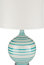 SY- TIL-102 Turquoise Stripe Lamp