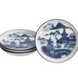 Mottahedeh - Blue Canton Coaster set of 4