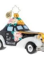 Radko- Wedding Bliss Chariot 2020