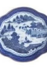Mottahedeh - Blue Canton Medium Lobed Tray