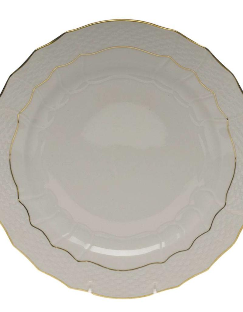 Herend  Golden Edge Service Plate