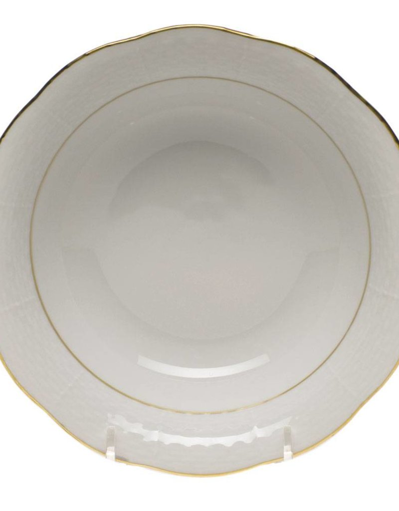 Herend - Golden Edge Oatmeal Bowl