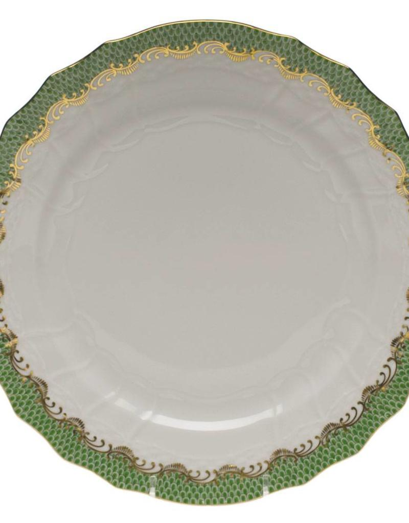 Herend Evergreen Fishscale Service Plate