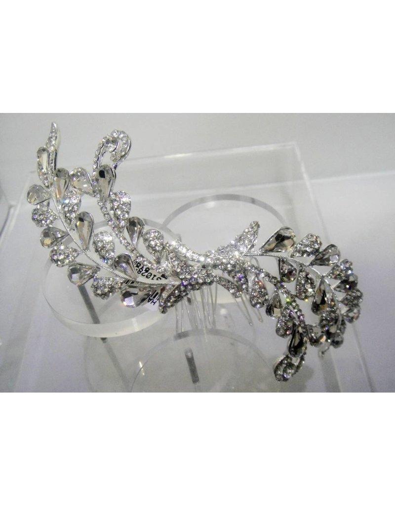 Silver Hair Piece -  50310285